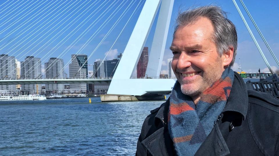 Arnoud Molenaar, le chef du Bureau de résilience de Rotterdam.
