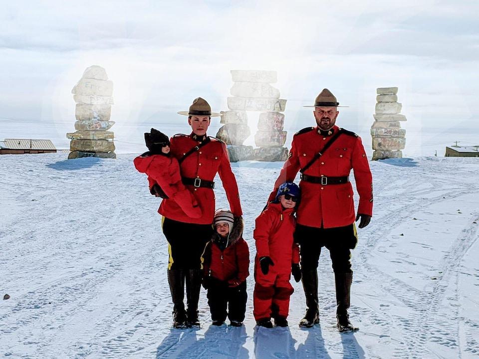 Un couple au Nunavut.