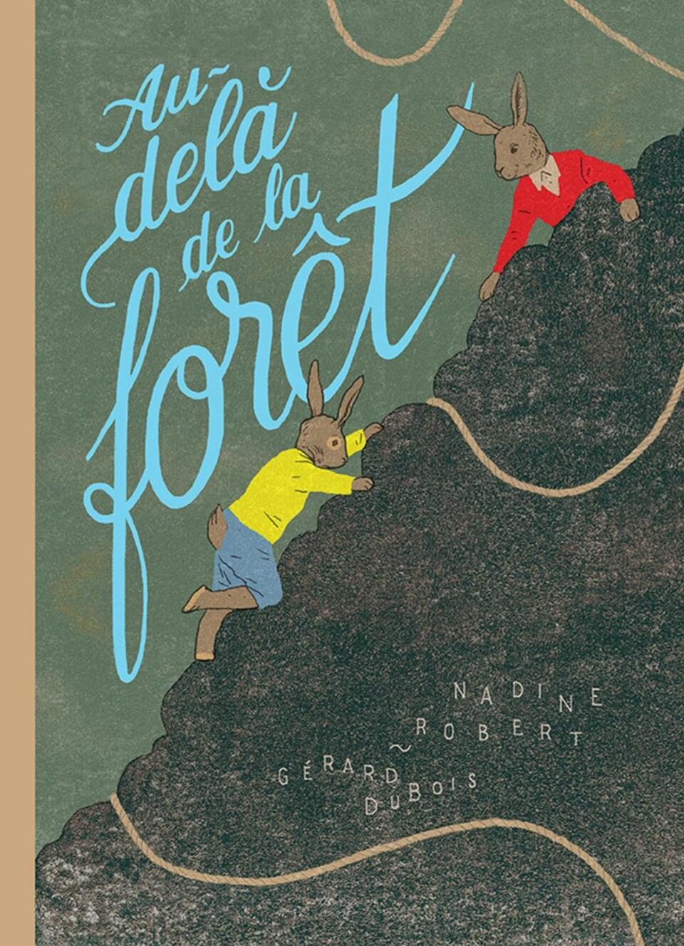 La page couverture du livre «Au-delà de la forêt»