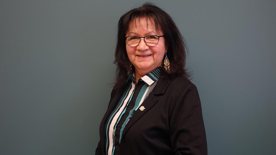 Alice Cleary, directrice de la protection sociale au Conseil de la Nation Attikamek