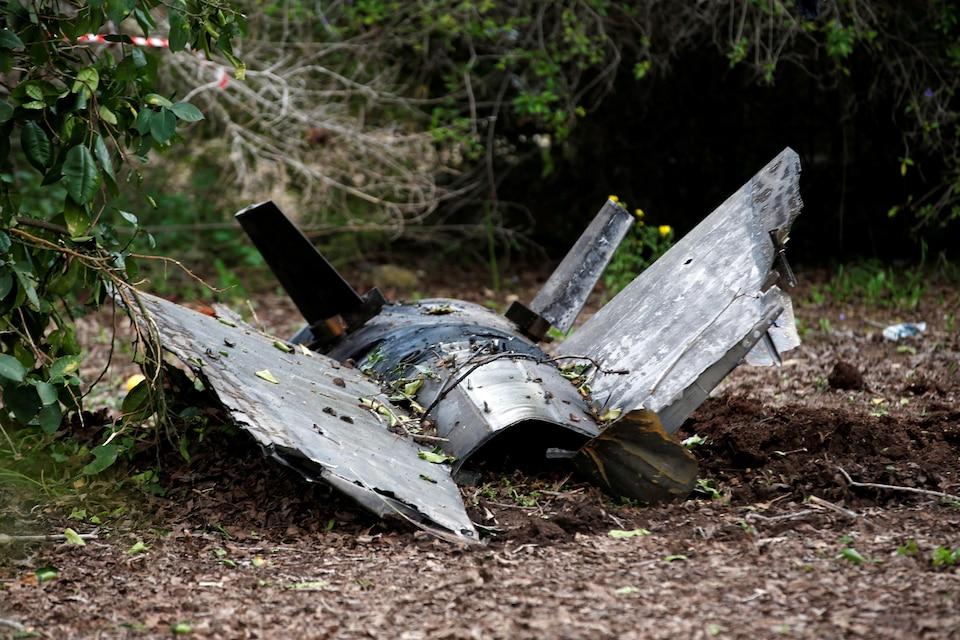 Des fragments d'un missile syrien ont été retrouvés à Alonei Abba, soit environ 3 km de l'endroit où le chasseur F-16 israélien s'est écrasé.