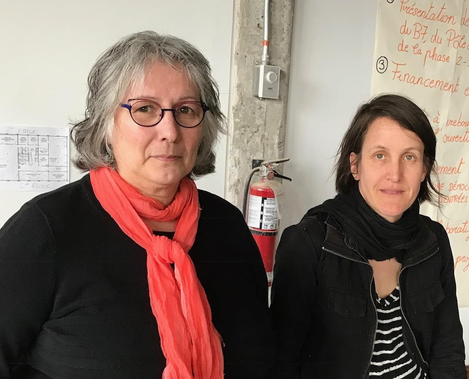 Lise Ferland et Karine Triollet
