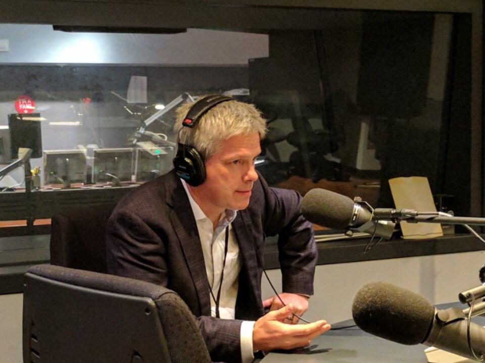 Ben Rowswell, ex-ambassadeur du Canada au Venezuela