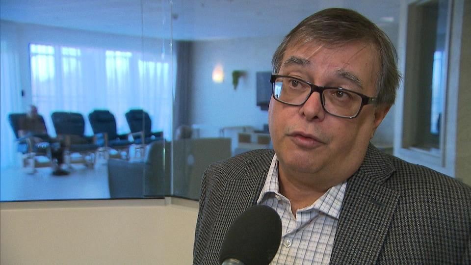 Le directeur général du Groupe Santé Arbec, Benoit Valiquette