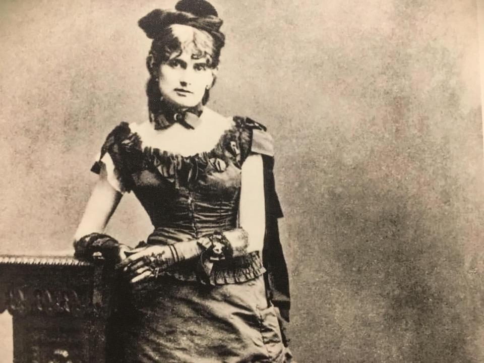 Berthe Morisot en 1875