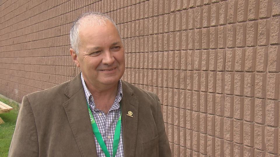Bertrand Beaulieu préside le comité organisateur de la finale des Jeux de l'Acadie 2019, qui auront lieu à Grand-Sault.