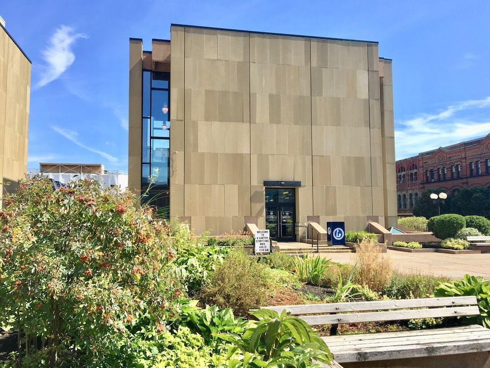 Centre des arts de la Confédération.