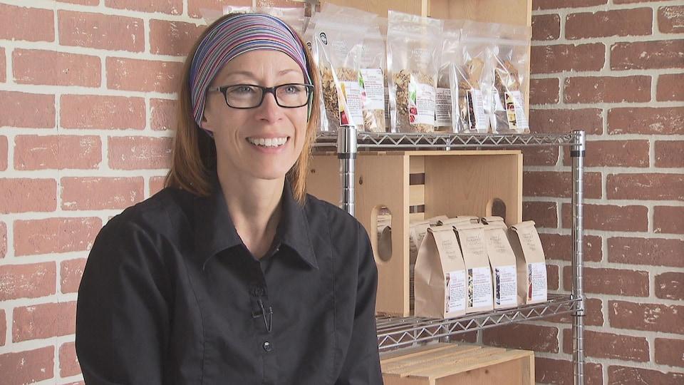 Isabelle Magny est propriétaire de la Fabrique gourmande.
