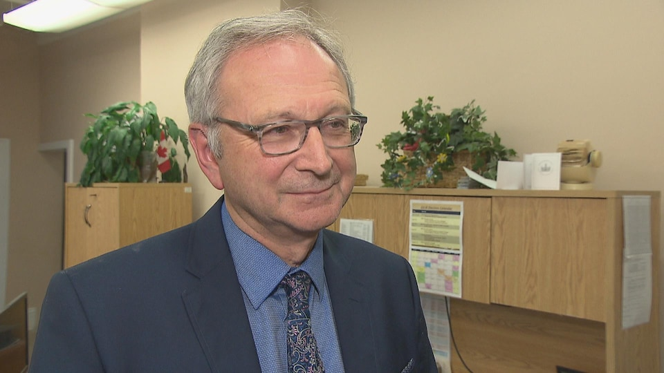 Blaine Higgs, chef du Parti progressiste-conservateur du Nouveau-Brunswick.