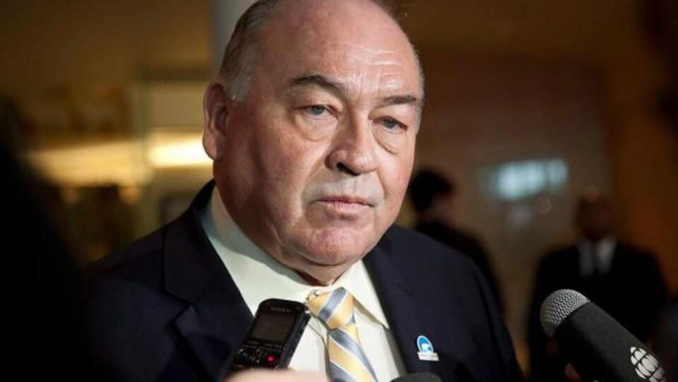 Bob McLeod, le premier ministre des Territoires du Nord-Ouest