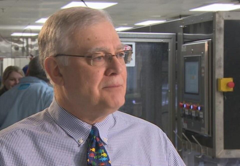 Bob Verge est le directeur général du Centre canadien d'innovations des pêches.