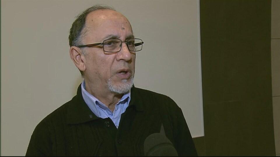 Boufeldja Benabdallah, cofondateur et vice-président du Centre culturel islamique de Québec