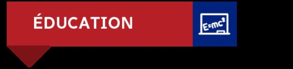 Bannière :  éducation