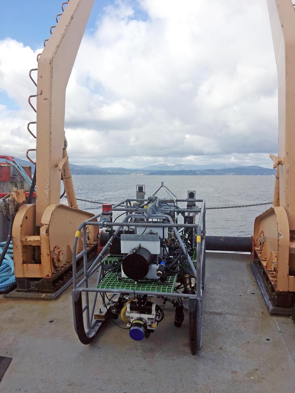 Une caméra robotique sous-marine