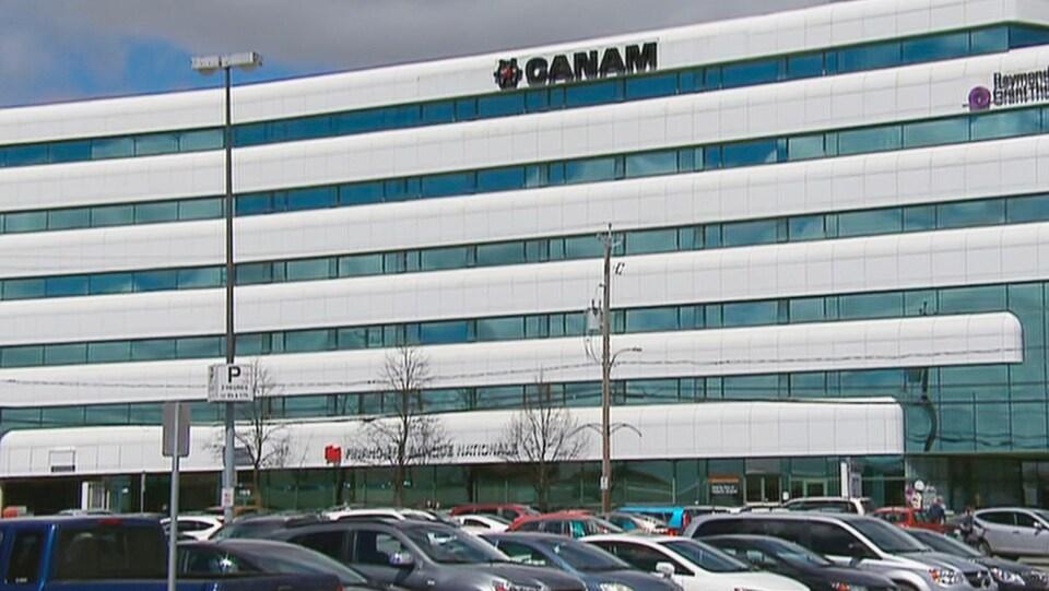 Le siège social de Canam