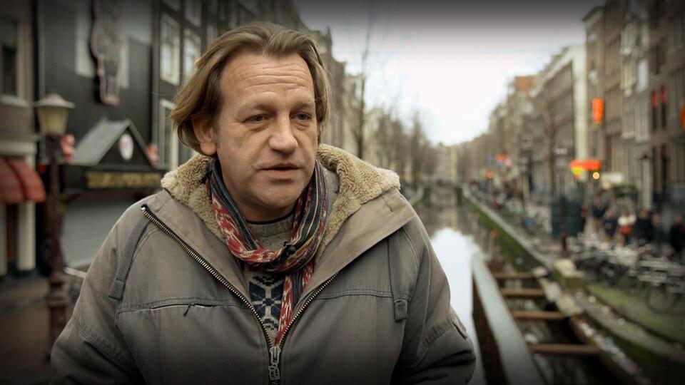 Derrick Bergman, militant pour la légalisation du cannabis aux Pays-Bas