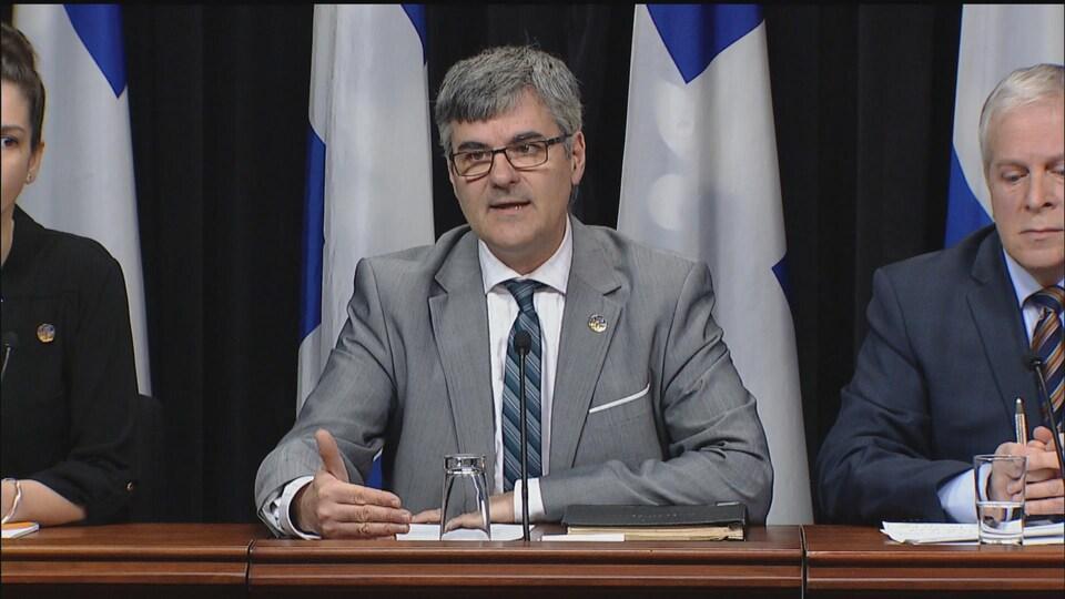 La Coalition avenir Québec réagit au projet de transport structurant de la Ville de Québec
