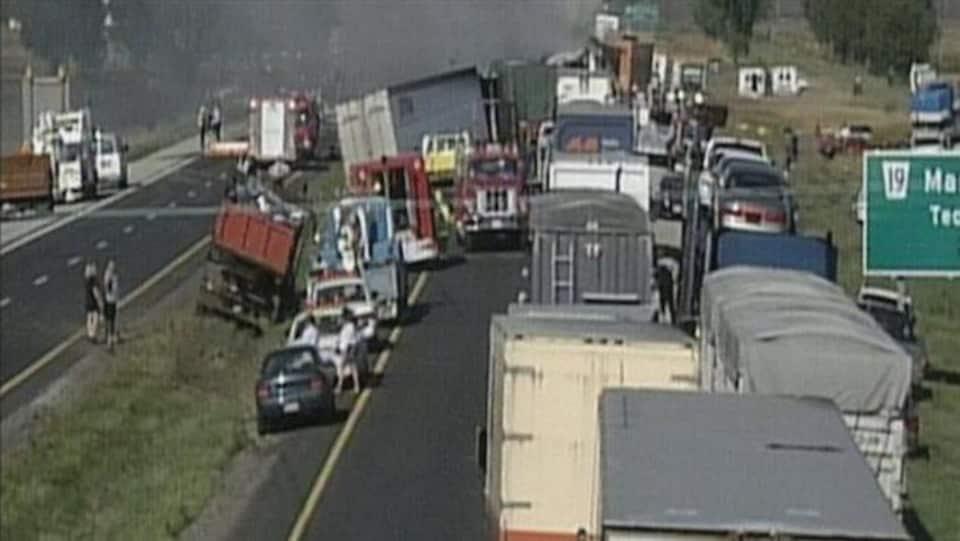 Carambolage du 3 septembre 1999 à Windsor