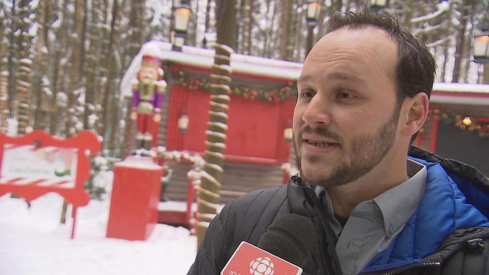 Karl Boucher, porte-parole du Woodooliparc