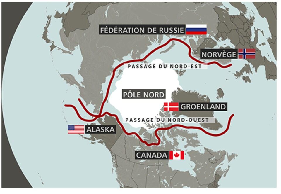 L'Arctique est le dernier territoire non réclamé sur la planète.