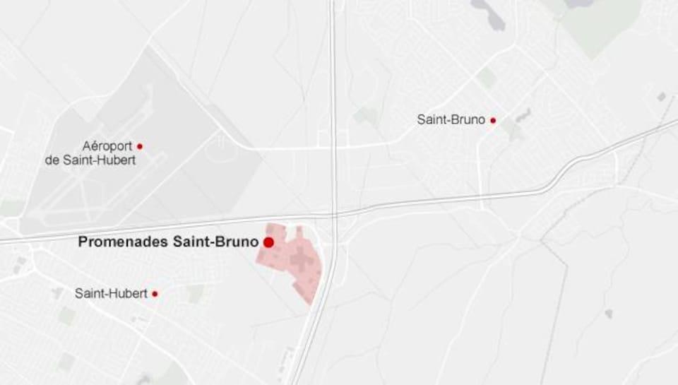 Deux petits avions se sont percutés en plein vol au-dessus des Promenades Saint-Bruno.
