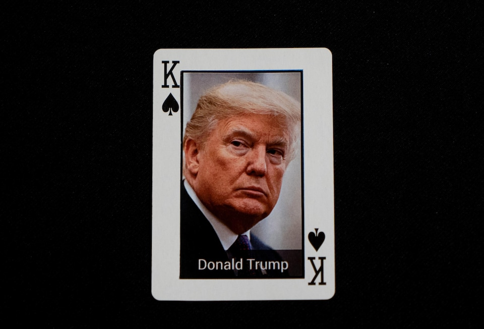 Carte de Donald Trump
