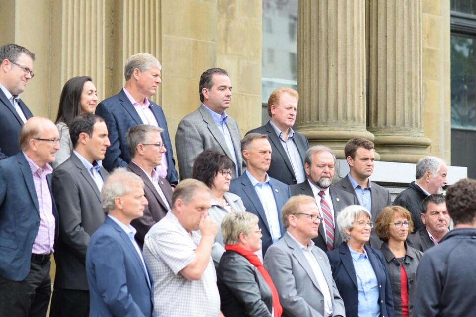 Les députés libéraux élus lors des élections du 24 septembre 2018.