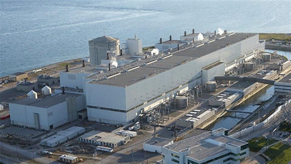 La centrale nucléaire de Darlington, en Ontario