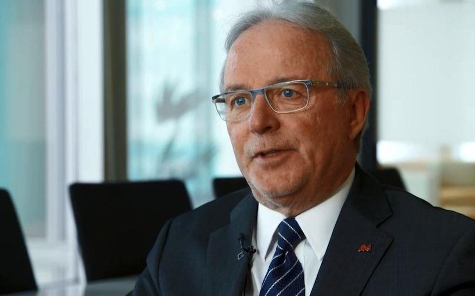 Charles Bernard, président du Collège des médecins.
