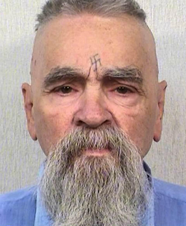 Le tueur en série Charles Manson en 2014