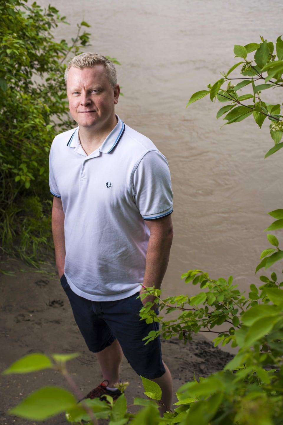 Le chercheur et toxicologue Keith Tierney, de l'Université de l'Alberta