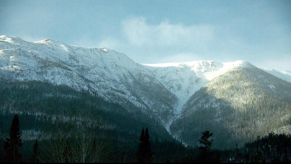 Les montagnes de la Gaspésie