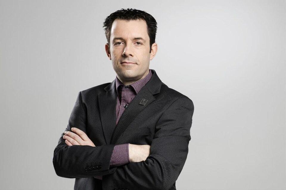 Christian Daigle, président du Syndicat de la fonction publique et parapublique du Québec.
