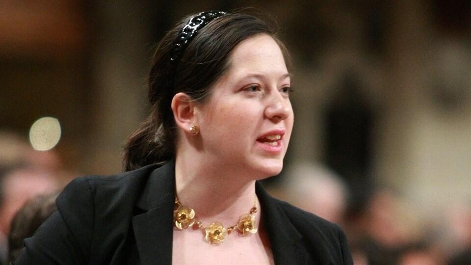 Christine Moore à la Chambre des communes