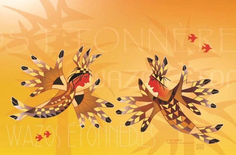 WAZOS ÉTONNÈRES de Christine Sioui-Wawanoloath