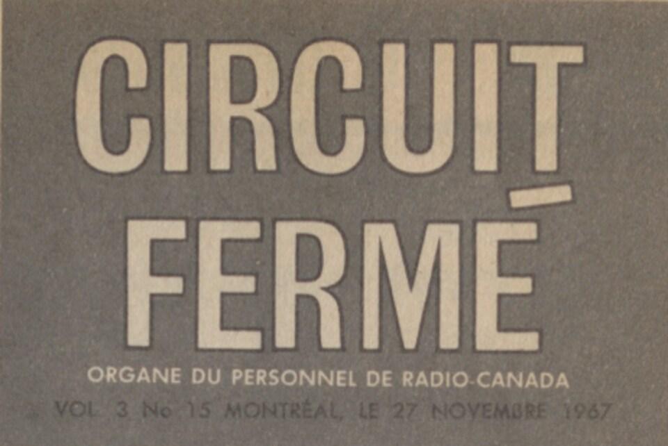Coupure de la revue Circuit fermé