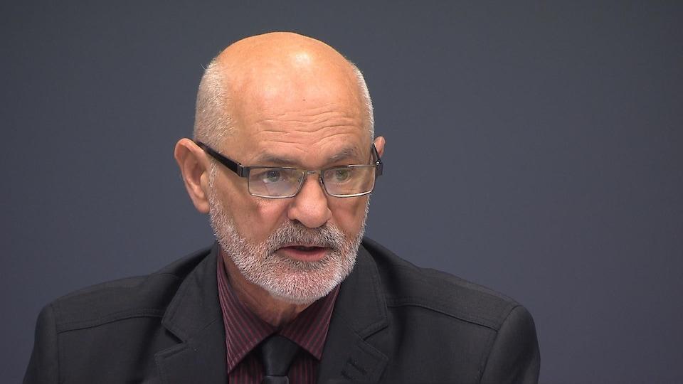 Le président du Conseil d'administration du CISSS de la Côte-Nord, Denis Miousse.