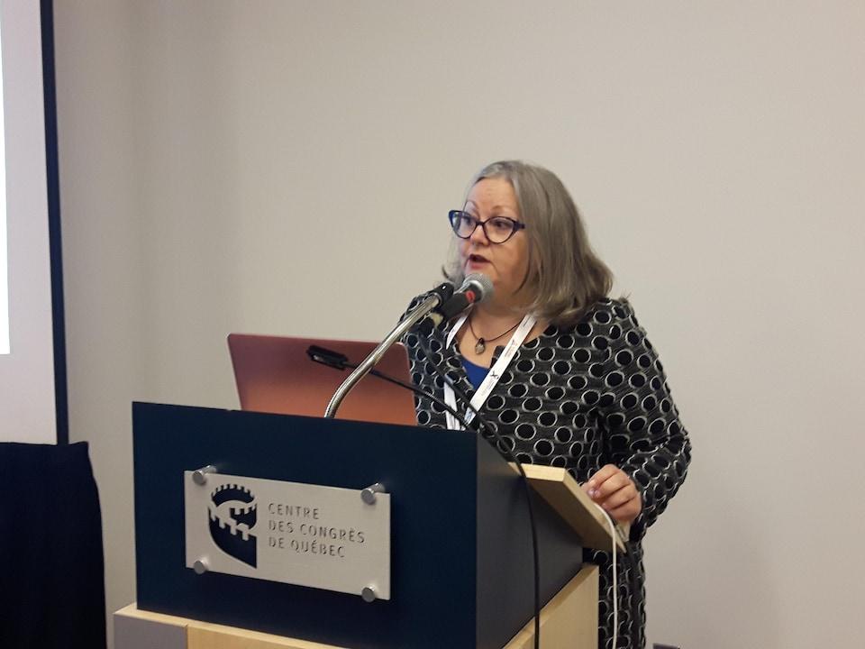 La chercheuse Claire Beaumont