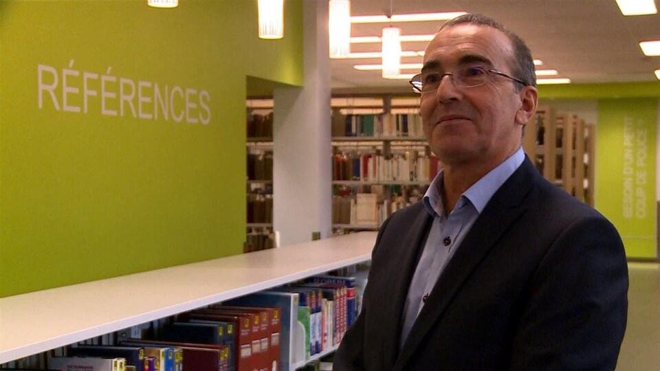 Le directeur général du Cégep de Baie-Comeau, Claude Montigny