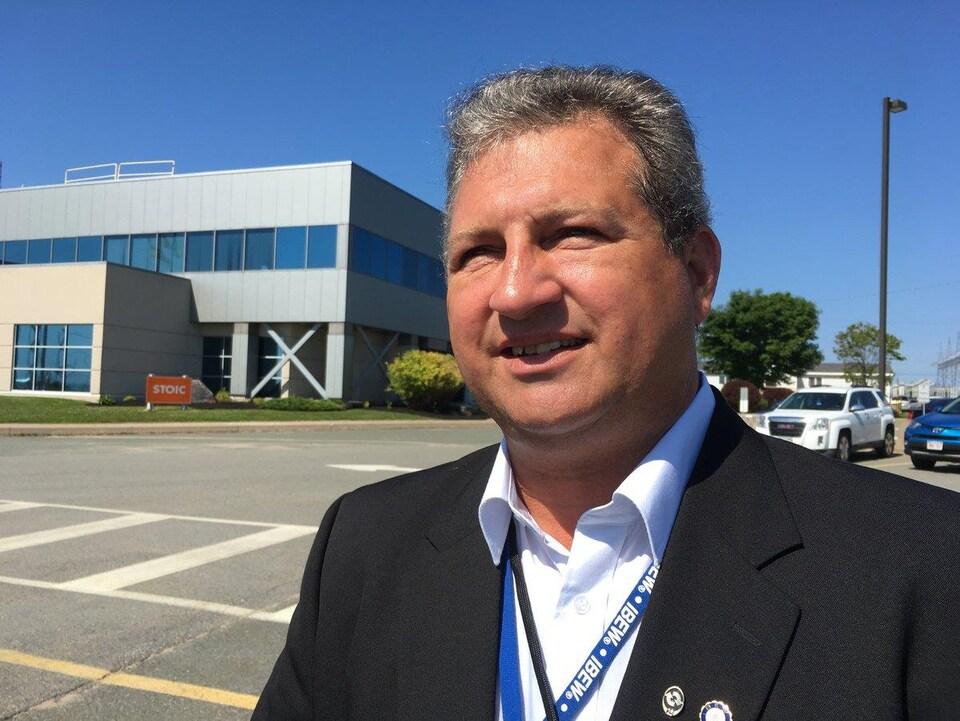Claude Richard, de la Fraternité internationale des ouvriers en électricité
