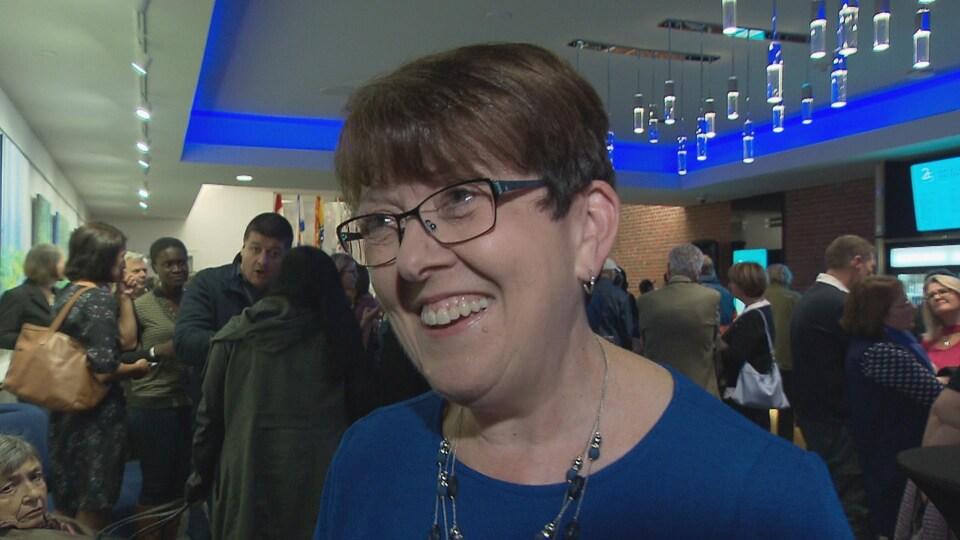 Claudette Thériault, présidente du Congrès mondial acadien 2019.