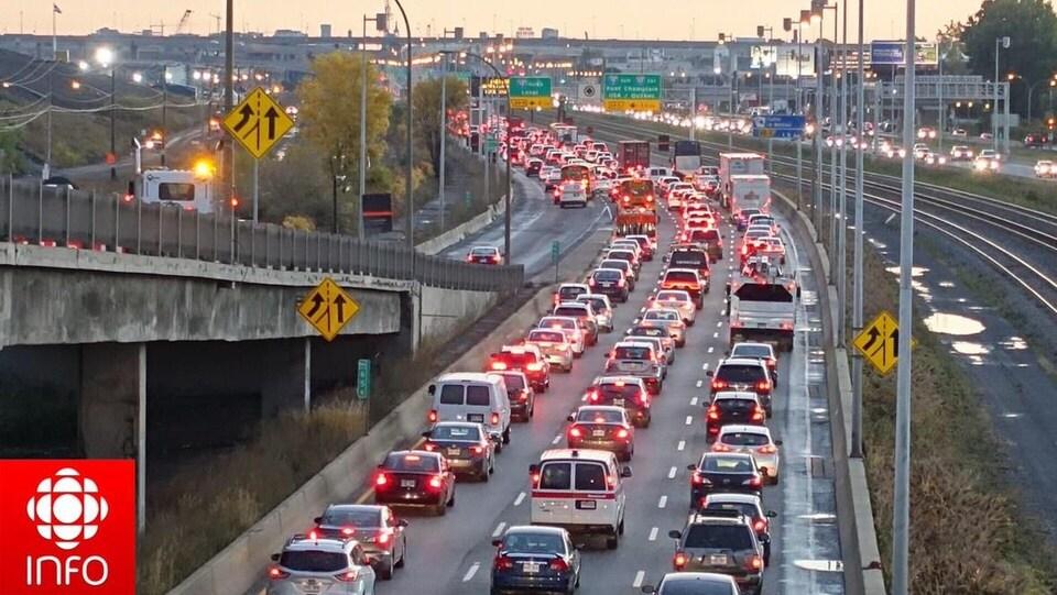 Congestion routière.