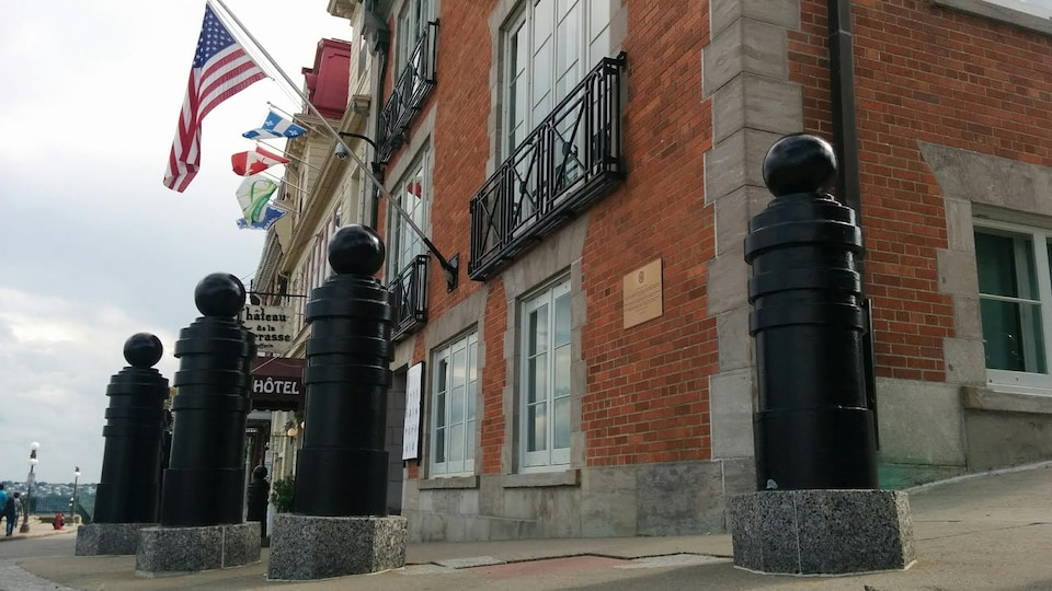 Le consulat des États-Unis d'Amérique dans le Vieux-Québec