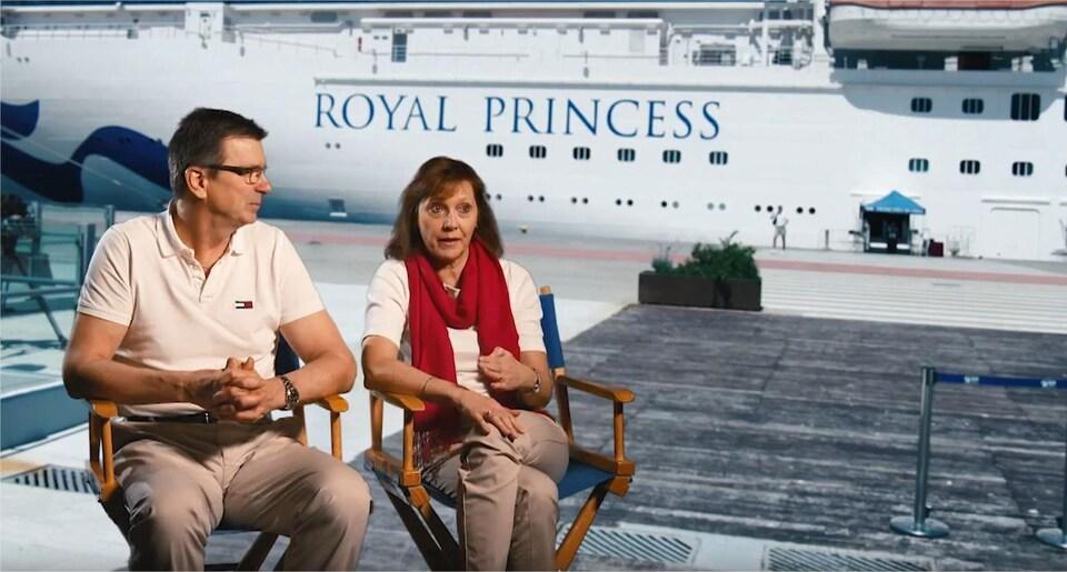 Le couple Roy-Boyer.