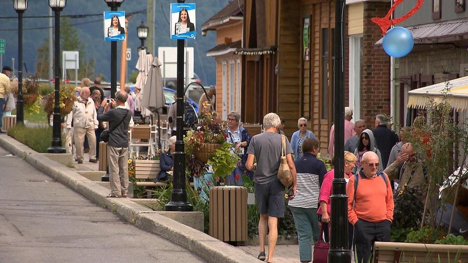 Rue de la Reine à Gaspé