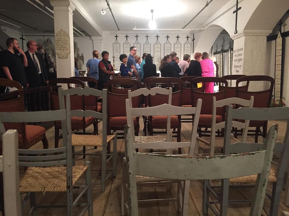 La crypte des Religieuses Hospitalières de Saint-Joseph