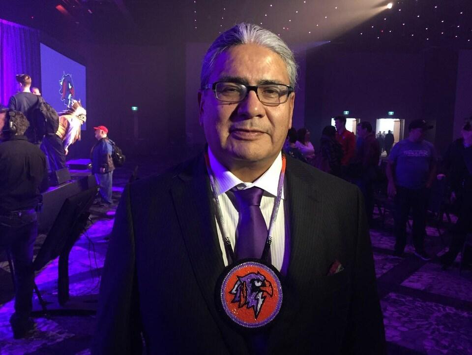 Curt Styres le 16 février 2019 au Centre des congrès d'Halifax.
