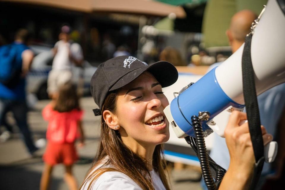 Cynthia Machado, l'une des instigatrices du groupe Vietnamplify