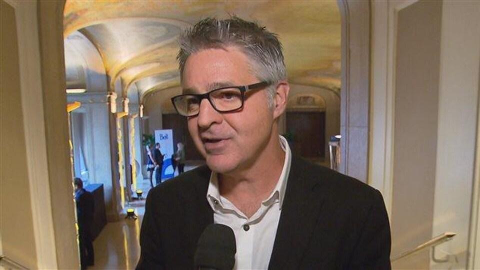 Daniel Gélinas, directeur général du Festival d'été de Québec