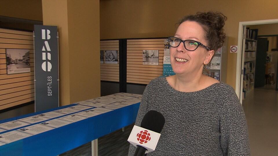 Danielle Saucier en entrevue